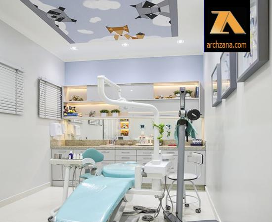 کلینیک دکوراسیون داخلی دندانپزشکی کودکان