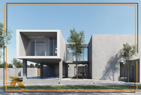 طراحی خانه های ویلایی