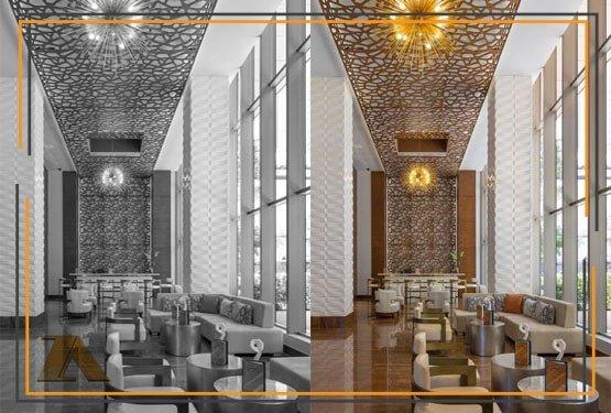 دکوراسیون هتل پنج ستاره