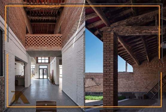 معماری داخلی ویلای سنتی